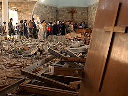 IRAQ CHURCH ATTACK