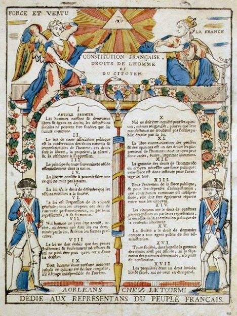 franske grunnlov